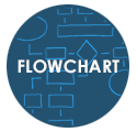 Icon for flowchart